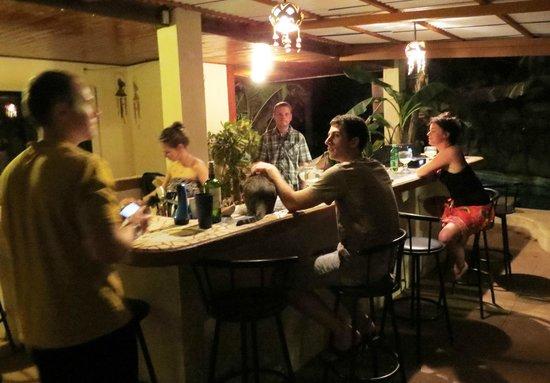 Casa Bambora:                   potluck banquet