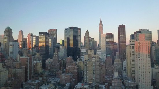 Dumont NYC–an Affinia hotel :                   Daytime view inc empire state