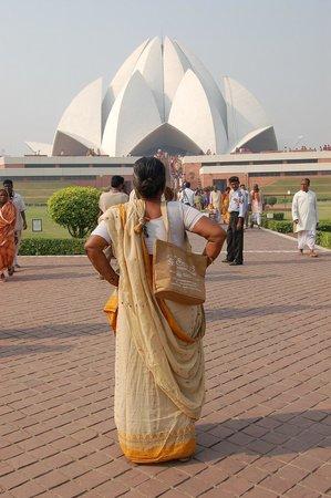 Bahai Lotus Temple: templo