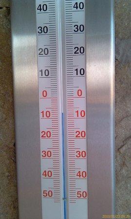 Hotel Bansko:                   Chilly outside