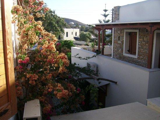 Villa Mata: Vue de notre balcon