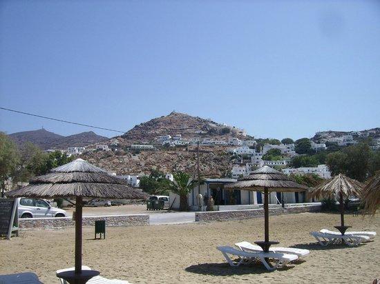 "فيلا ماتا بينشن: Yialos Beach à 150 mètres de la ""Villa Mata"""