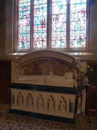 Shrine of St Augustine :                   Pugin's tomb