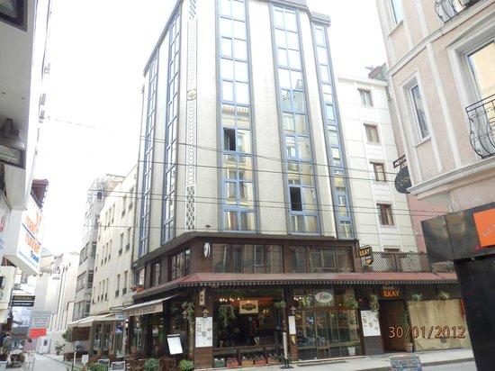 Hotel İlkay:                   ILKAY Hotel, Außenansicht