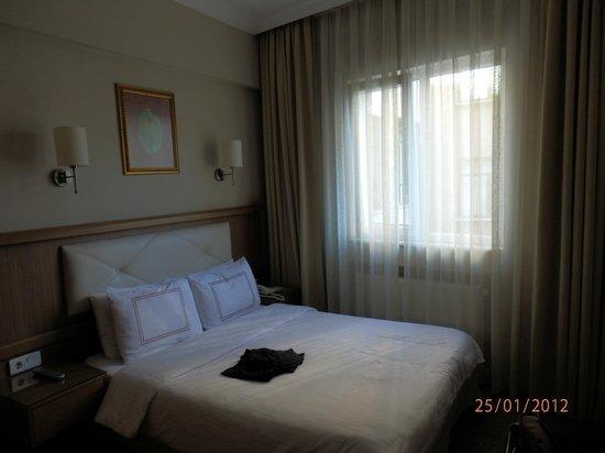 Hotel Ilkay:                   Zimmeransicht
