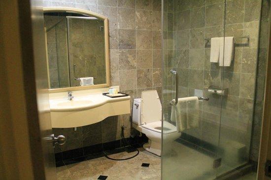Grand DarulMakmur Hotel Kuantan:                   bathroom