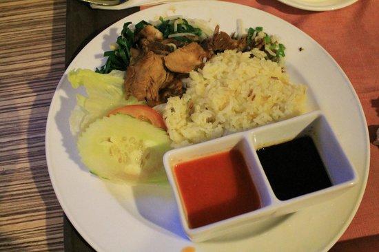 M.S. Garden Hotel Kuantan:                   Nasi Ayam M.S Garden Sent To Room