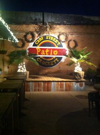 Camp street patio:                                     a definite must