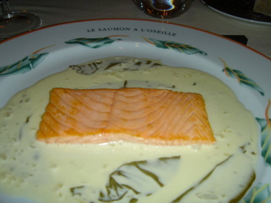 Bistro 151 : Troisgros' salmon in sorrel sauce