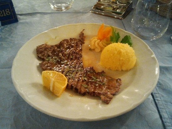 Hotel Villa Aurora:                                     L'ottima carne