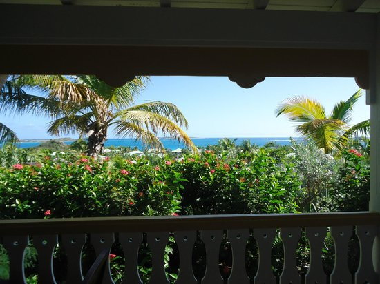 Hotel La Plantation:                   View from deck