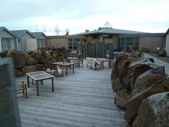 Icelandair Hotel Fludir: Garden Area
