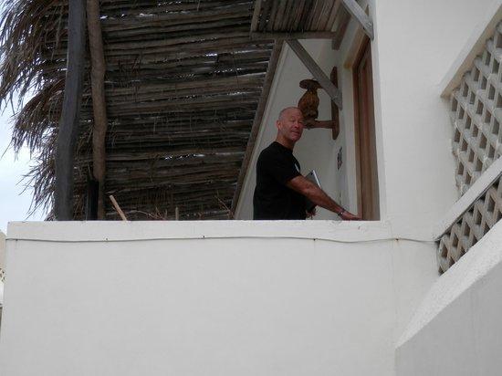 "Hotel Villa Kiin:                   Looking up towards on of the ""Honeymoon"" Suites"