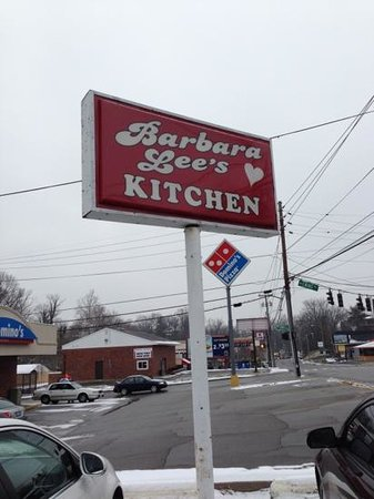 sign - Picture of Barbara Lee\'s Kitchen, Louisville - TripAdvisor