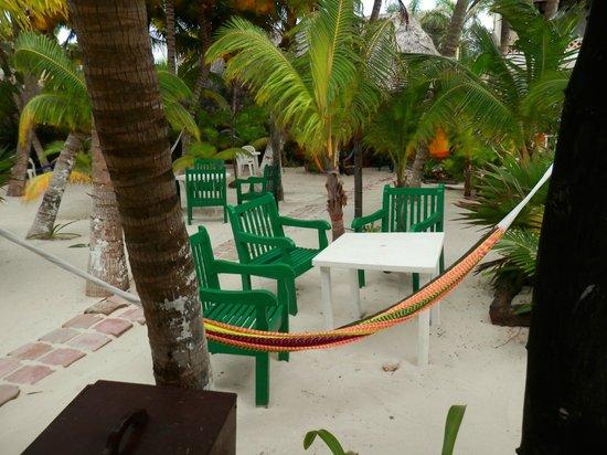 Hotel Villa Kiin:                   Sitting area on grounds