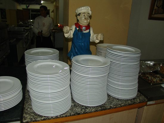 Delphin Ribat:                   buffet  plates                 
