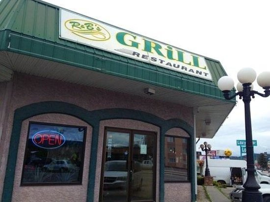 R & B's Grill:                   Storefront