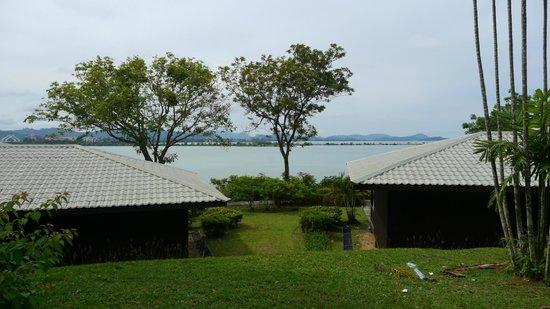 Century Langkawi Beach Resort:                   Facing the sea