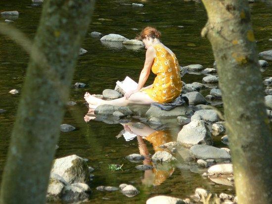Camping Hirzberg : am Fluß ganz in unserer Nähe