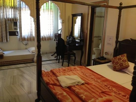 Krishna Palace:                   Room 201,deluxe