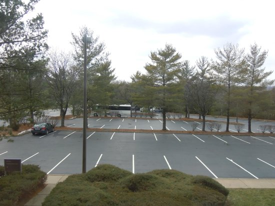 Hilton Woodcliff Lake: view from 284