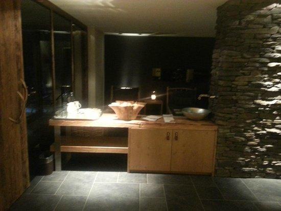 Hotel Sonne:                   Wellnessbereich