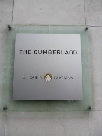 The Cumberland:                                     Signage
