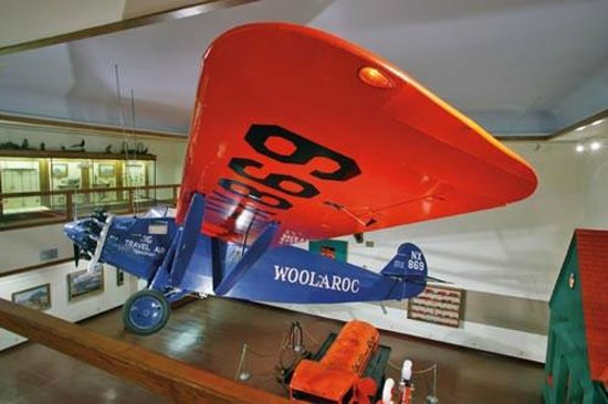 Woolaroc Museum & Wildlife Preserve:                                                       Historic Trans-Pacific flight race winner,