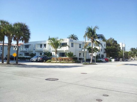 The Aqua Hotel:                   street view