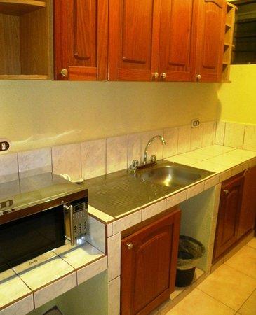 Arenal Observatory Lodge & Spa: Cuisinette mais aucune vaisselle