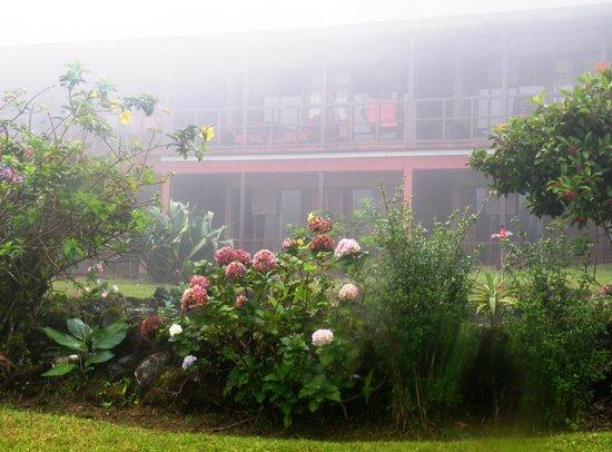 Arenal Observatory Lodge & Spa: Secteur des chambres standards.