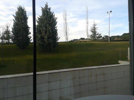 Finca Prats Hotel Golf & Spa: Vista desde el comedor
