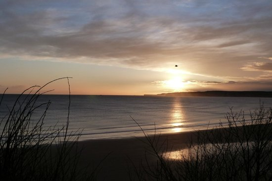 Seafield Guest House: Tranquillity over Filey Bay