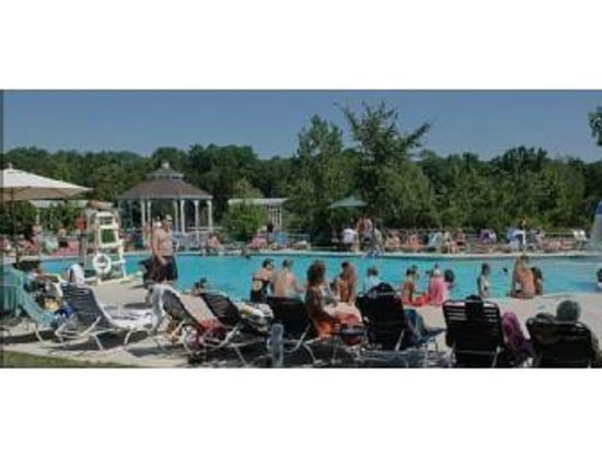The Fireside Restaurant at Rustic Hills Country Club: Poolside in one of Medina's Largest Outdoor Pools. Come take a splash then relax at our outdoor