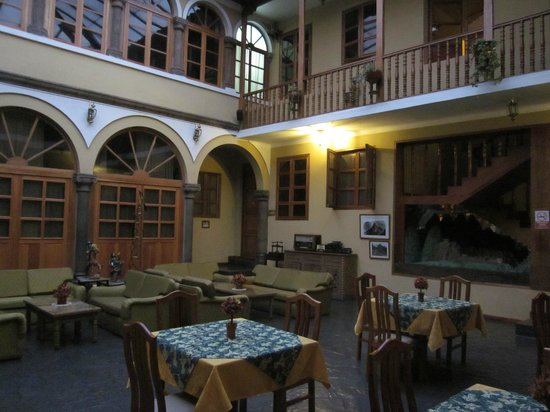 Los Andes De America Hotel:                   Hotel Inside