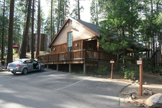 Evergreen Lodge at Yosemite:                   Ingresso e Reception