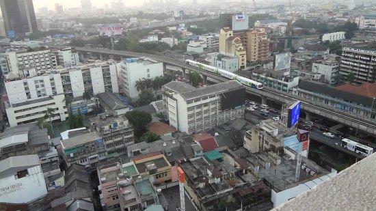 โรงแรมเซ็นเตอร์ พอยต์ สีลม:                   vue de la chambre