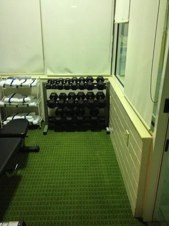 Fairfield Inn & Suites Sandusky: free weights