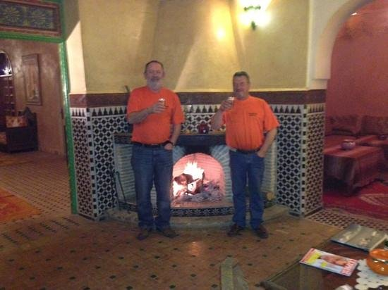 Hotel Dar Zitoune:                   nice n warm in morocco