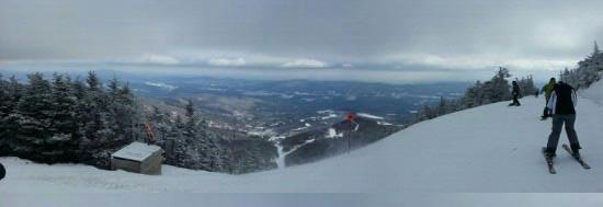 Sugarbush Mountain Ski Resort: view from heavens gate lift