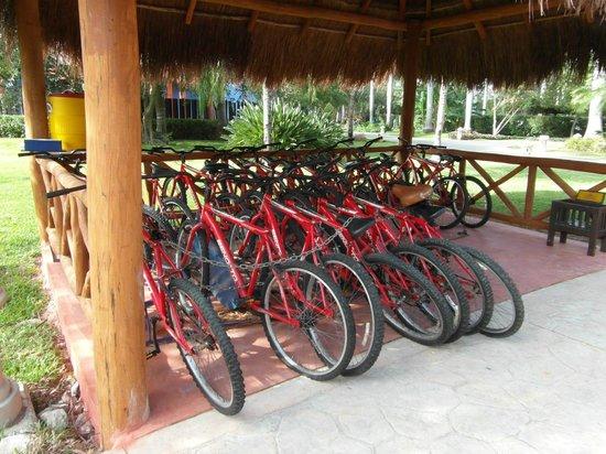 IBEROSTAR Paraiso Del Mar:                   Bikes for accompanied bike tour