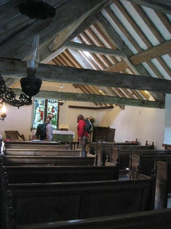 Wasdale Head, UK:                   Inside the church