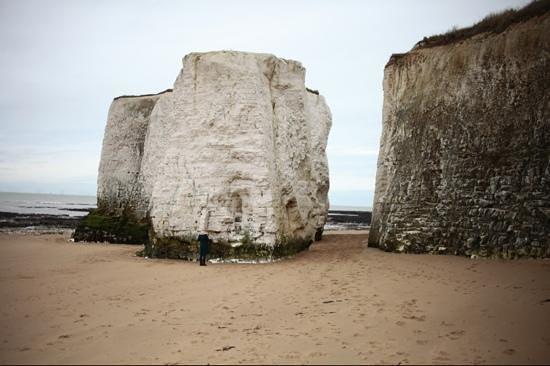 Botany Bay: chalk towers
