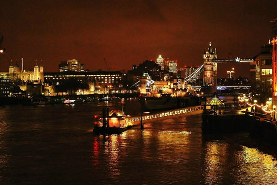 Novotel London City South :                                     View from London Bridge