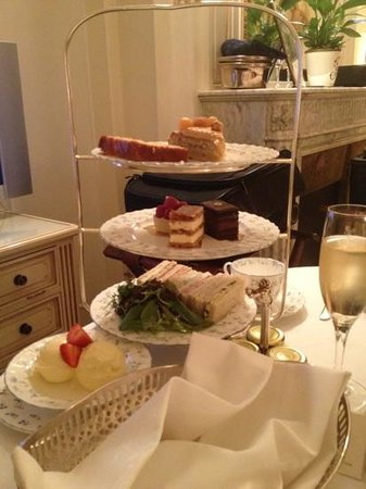 The Ritz London:                   In room Afternoon Tea!