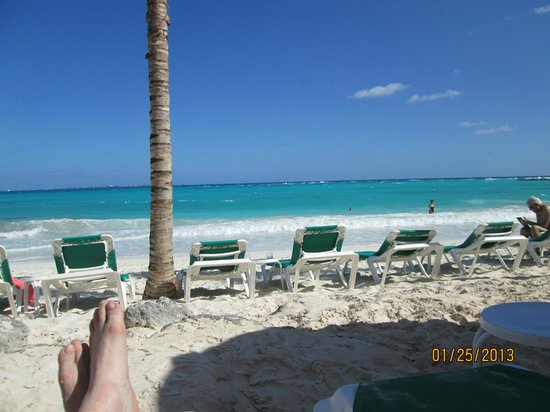 Grand Fiesta Americana Coral Beach Cancun:                   beach view