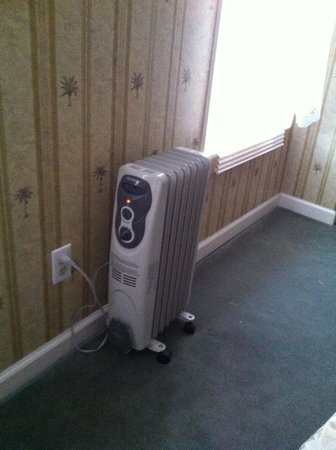 The Pines Inn of Lake Placid:                   space heaters