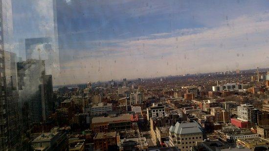 Hilton Toronto:                                     Good View!