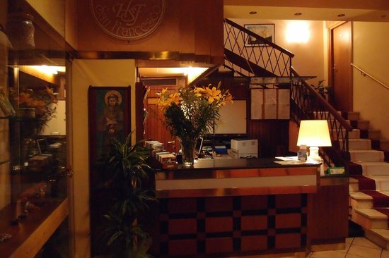 Hotel San Francesco: The reception