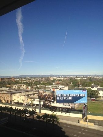 The Westin Los Angeles Airport:                   view